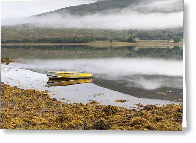 Loch Eil Reflections Greeting Card