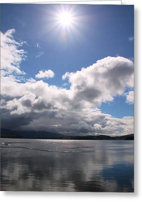 Loch Etive Greeting Card