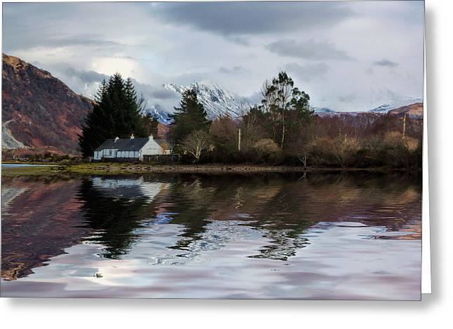 Loch Etive Reflections Greeting Card