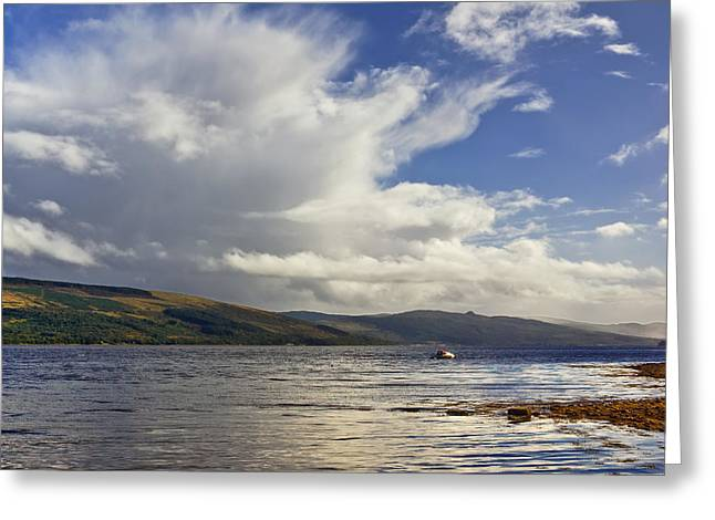 Greeting Card featuring the photograph Loch Fyne Scotland by Jane McIlroy