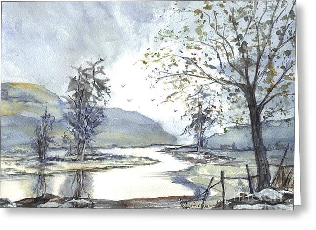 Loch Goil Scotland Greeting Card by Carol Wisniewski