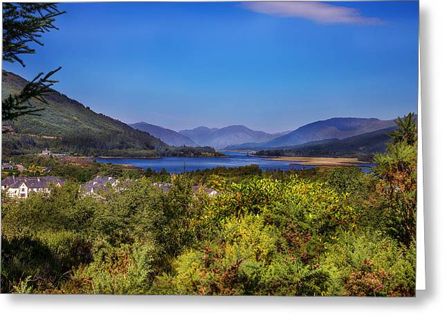 Loch Leven From Glencoe Greeting Card by Niall McWilliam