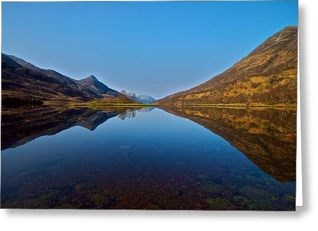 Greeting Card featuring the photograph Loch Leven by Stephen Taylor