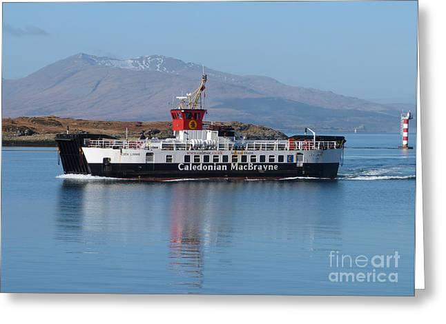 Loch Linnhe Ferry - Oban Greeting Card