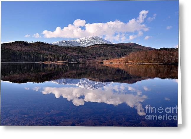 Loch Lomond Greeting Card by Aditya Misra
