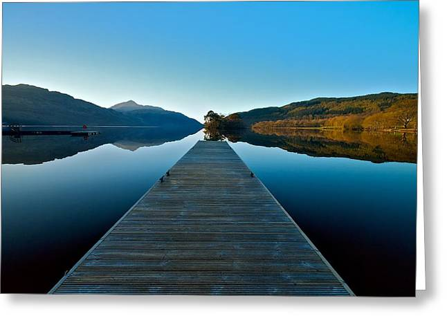 Loch Lomond In The Morning Greeting Card