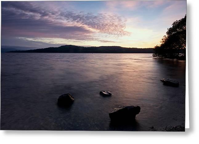 Loch Lomond Sunrise Greeting Card