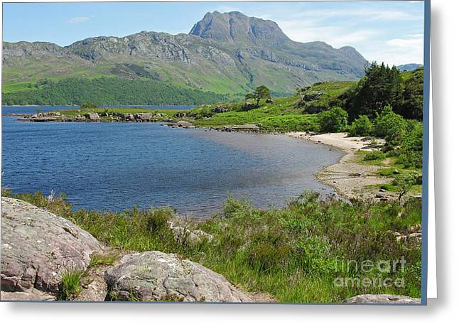 Loch Maree And Slioch Greeting Card