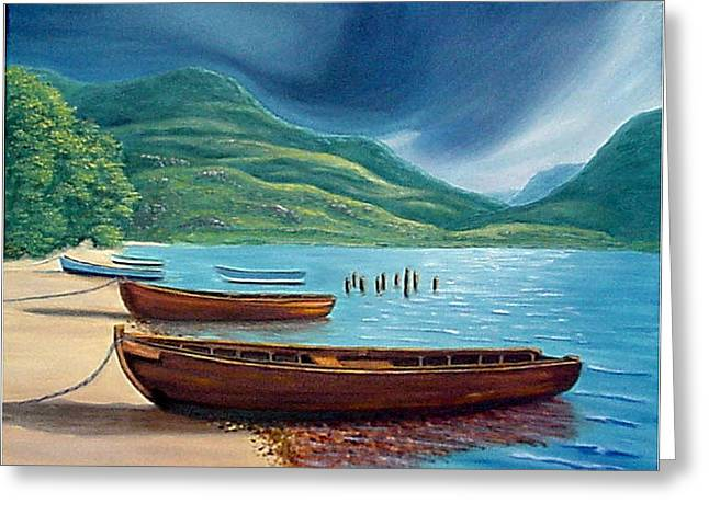 Loch Maree Scotland Greeting Card