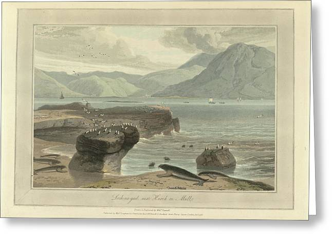 Loch-na-gael Near Knock On Mull Greeting Card by British Library