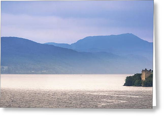 Loch Ness And Urquhart Castle Greeting Card