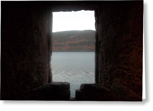 Loch Ness Portal Greeting Card