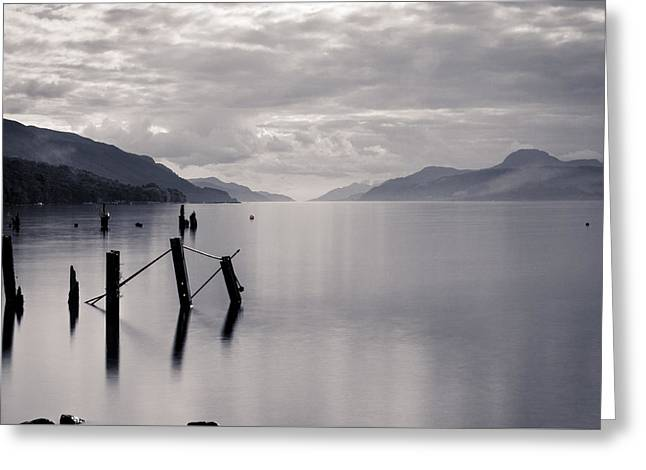 Loch Ness Posts Greeting Card