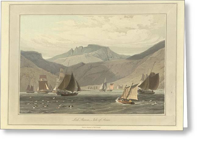 Loch Ranza On The Isle Of Arran Greeting Card