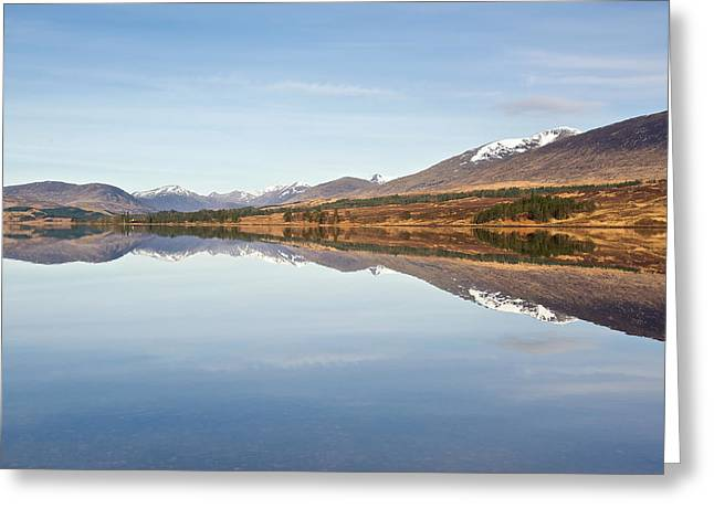 Loch Tulla In Spring Greeting Card by Stephen Taylor