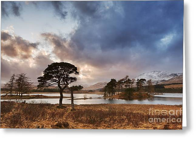 Loch Tulla Greeting Card