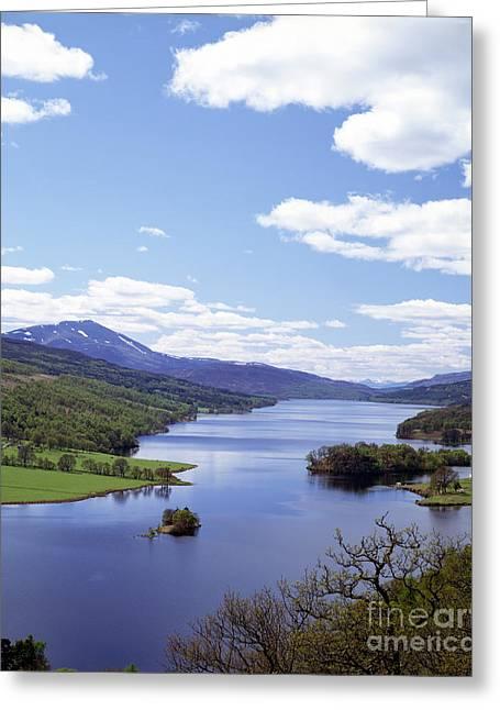 Loch Tummel Greeting Card by Rafael Macia
