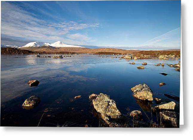 Lochan Na Achlaise Greeting Card by Stephen Taylor