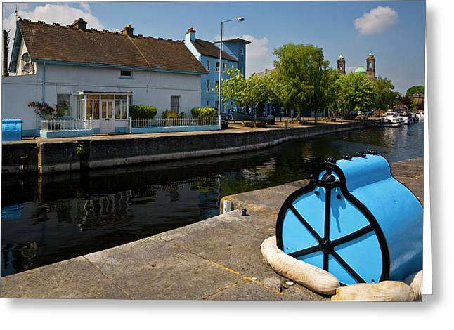 Lock On The River Shannon Greeting Card