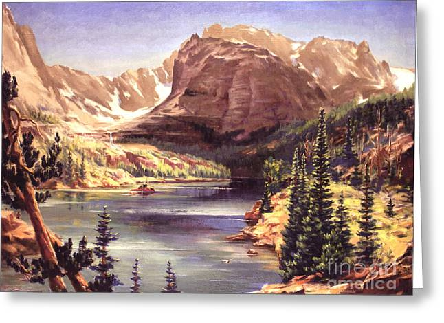 Lock Vale - Colorado Greeting Card