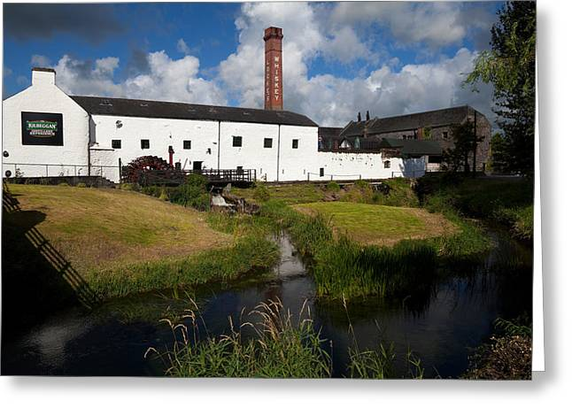 Lockes Irish Whiskey Distillery Greeting Card