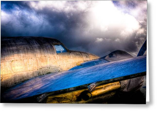 Lockheed Hudson Greeting Card by Phil 'motography' Clark