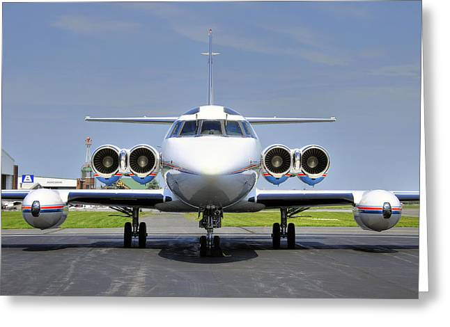 Lockheed Jetstar 2 Greeting Card