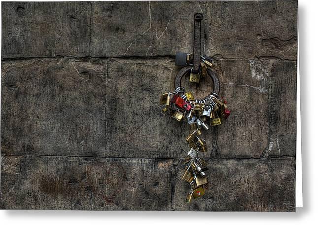 Locks Of Love Greeting Card