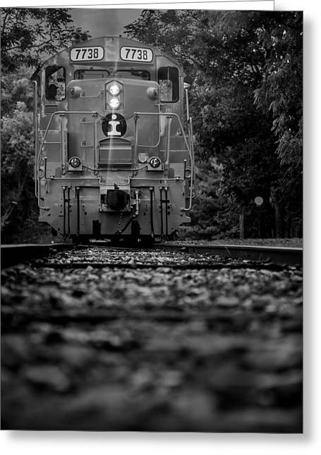 Locomotive 7738 Greeting Card