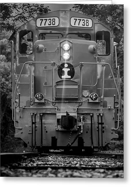 Locomotive 7738 Greeting Card