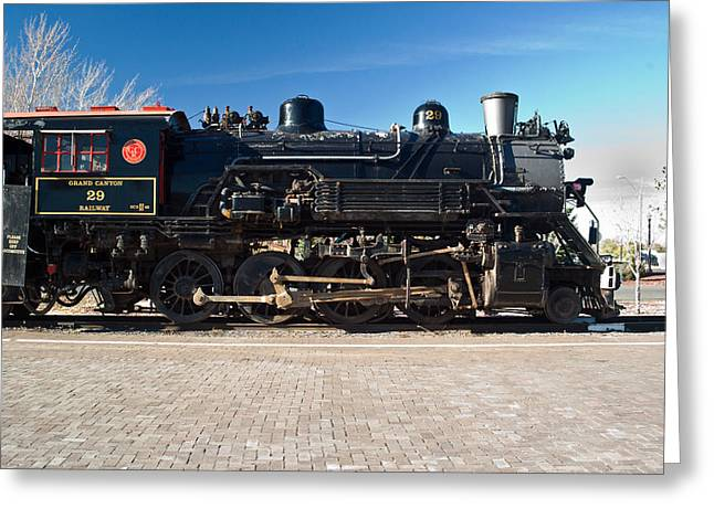 Locomotive Engine 29 Greeting Card