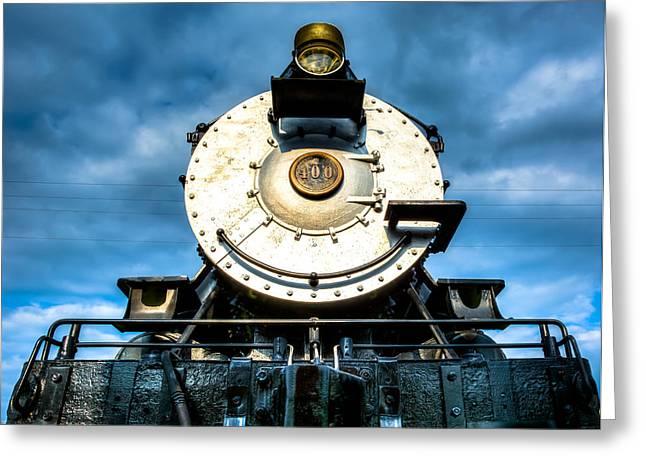 Locomotive Smile  Greeting Card