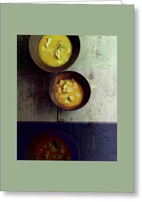 Locro De Papas Greeting Card by Romulo Yanes