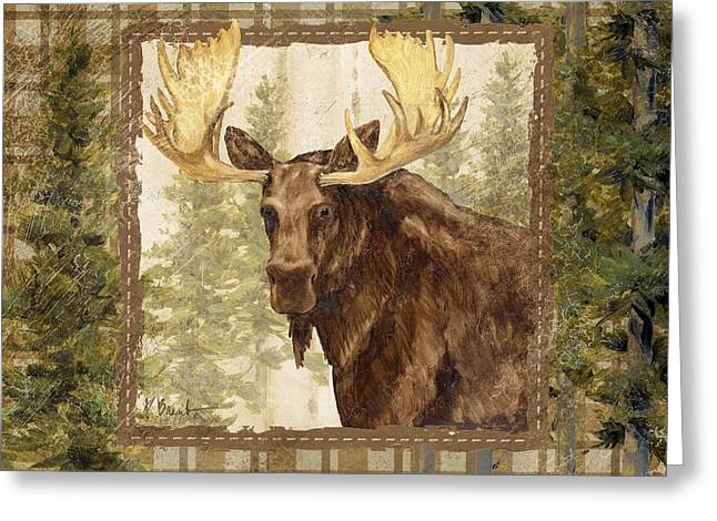 Lodge Portrait Iv Greeting Card by Paul Brent
