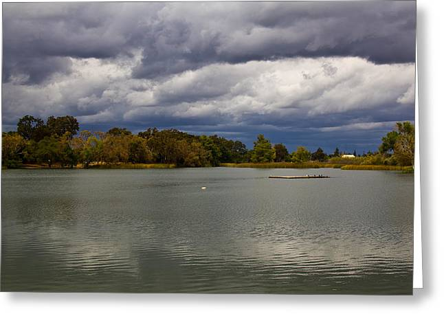 Greeting Card featuring the photograph Lodi Lake by Randy Bayne