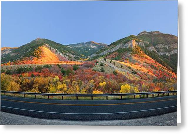 Logan Canyon Greeting Card
