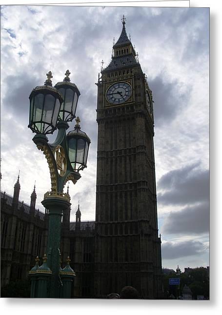 London 2 Greeting Card by Sonya Ragyovska