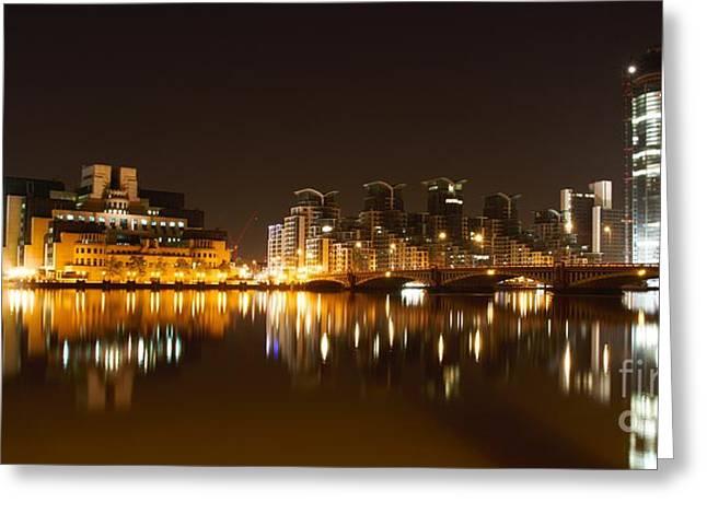Greeting Card featuring the photograph London 3 by Mariusz Czajkowski