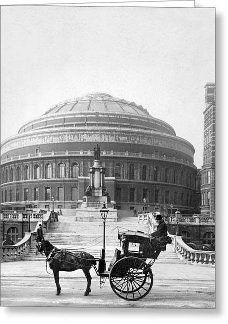 London Albert Hall, C1904 Greeting Card
