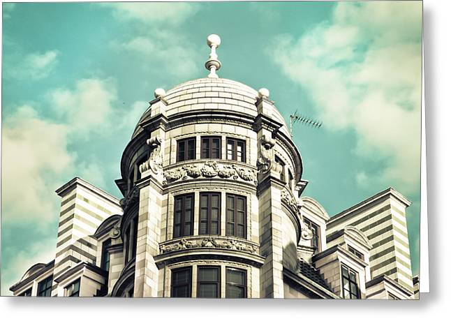 London Architecture Greeting Card by Tom Gowanlock