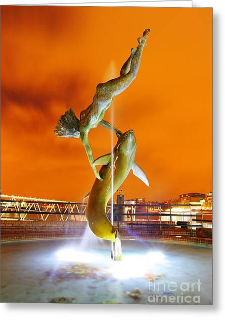 Greeting Card featuring the photograph London Art by Mariusz Czajkowski