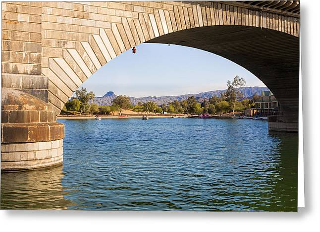 London Bridge At Lake Havasu City Greeting Card