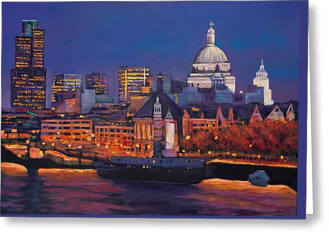 London Calling. Greeting Card by Johnathan Harris