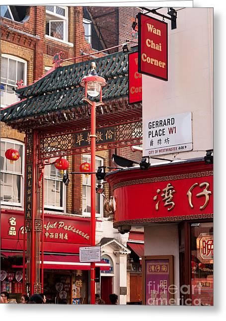 London Chinatown 01 Greeting Card