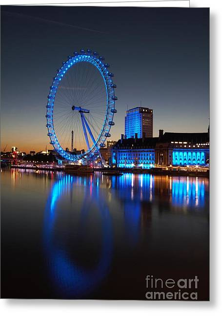 London Eye 2 Greeting Card