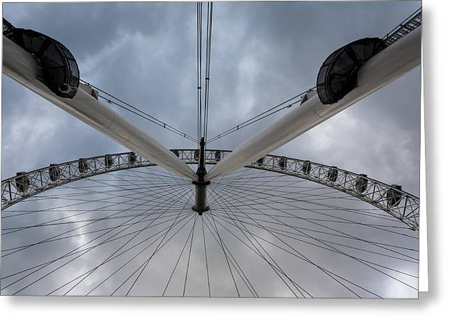 London Eye Detail Greeting Card