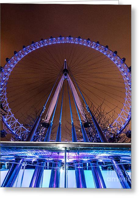 London Eye Supports Greeting Card