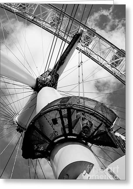 London Eye Greeting Card by Vera Icon Fine Art