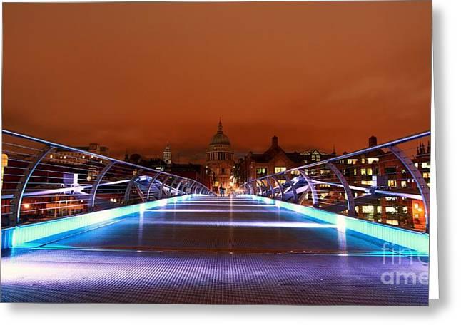 Greeting Card featuring the photograph London  by Mariusz Czajkowski