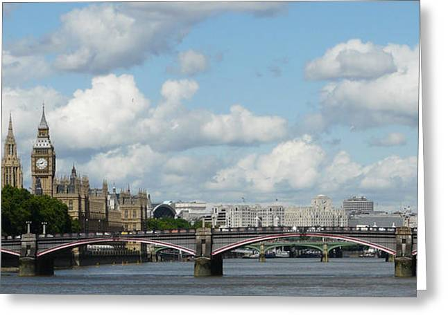 London Panorama Greeting Card